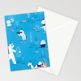 ABC print #2 Stationery Cards