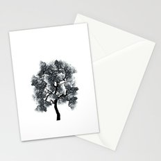 Collage Tree Stationery Cards