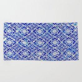 Azulejo Beach Towel