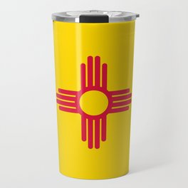 New Mexico Flag Travel Mug