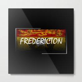 Fredericton Metal Print