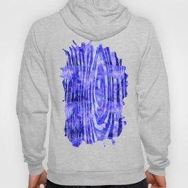 Purple Wood Print Hoody