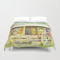 general Duvet Covers featuring General  Store by Bowles Fine Paintings