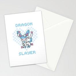 8-Bit Shiny Sylveon Stationery Cards