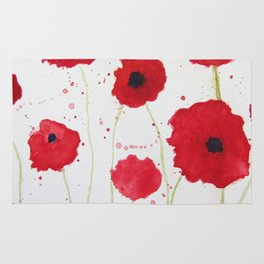 Poppies II Rug