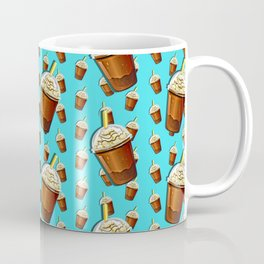 Iced Coffee To Go Pattern Coffee Mug