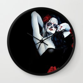 roses are red.... Wall Clock