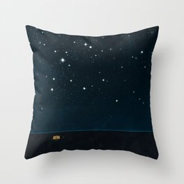 Genesis 15:5 Throw Pillow