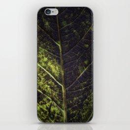 Leaf Four iPhone Skin