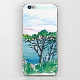 Dream Island Of Capri Italy View of Sea and Rocks iPhone Skin
