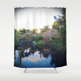 oh, the serenity Shower Curtain