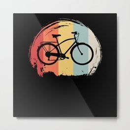 Bicycle Retro Metal Print