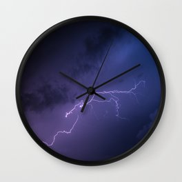 Volt out of the blue Wall Clock