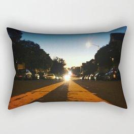 Double Yellow Rectangular Pillow