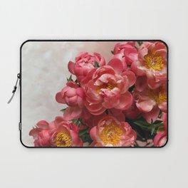 Peony Cascade Laptop Sleeve