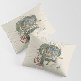 Celtic Initial F Pillow Sham