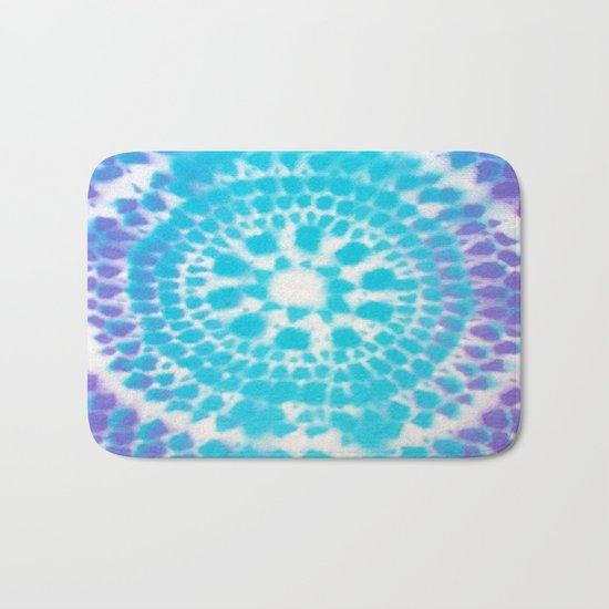 Scale Mandala Pattern Bath Mat