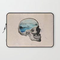 elegant Laptop Sleeves featuring Brain Waves by Chase Kunz