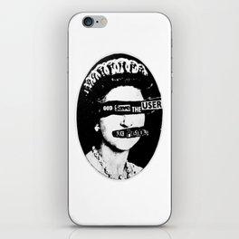 God save the USER iPhone Skin