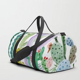 Succulent Happy Garden Duffle Bag