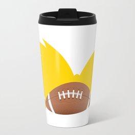 Football Head Travel Mug