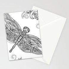 Fly with me through the wind, my dragonfly. Stationery Cards