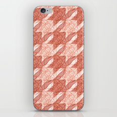 lobster houndstooth iPhone & iPod Skin