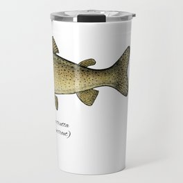 Brown trout Travel Mug