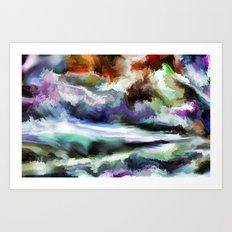Wild Is The Sea Art Print