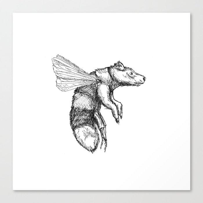 Bumblebear Canvas Print