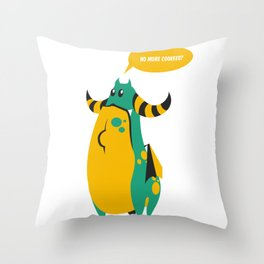 No more food? Throw Pillow