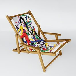 Pollock Remembered by Kathy Morton Stanion Sling Chair