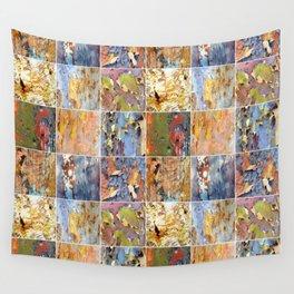 Rainbow Bark Wall Tapestry