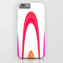 Cheerful lines iPhone Case