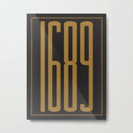 1689 Metal Print
