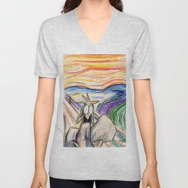 Squirrel Scream Unisex V-Neck