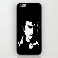 alex turner iPhone & iPod Skins featuring Alex Turner by Marie Montagner
