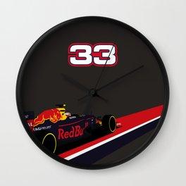 Max Verstappen, race winner Spain 2016 Wall Clock