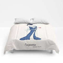 Madame butterfly Comforters