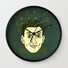 headache highness Wall Clock