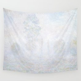 Morning Haze by Claude Monet Wall Tapestry