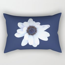 Sleepy African Daisy Flower Rectangular Pillow