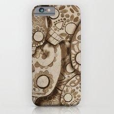 skull fresco Slim Case iPhone 6s