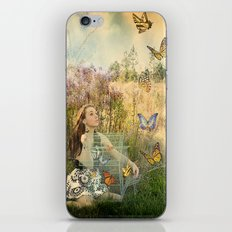 Release of the butterflies iPhone & iPod Skin