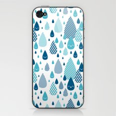 raindrop iPhone & iPod Skin