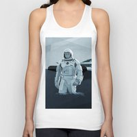 interstellar Tank Tops featuring Interstellar by ANDRESZEN