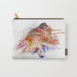 Watercolor Chihuahua Carry-All Pouch