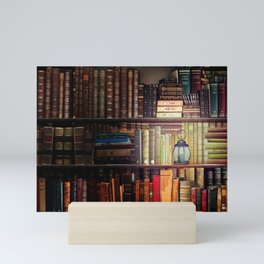 The Cozy Cottage Reading Nook Mini Art Print