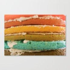 rainbow cake Canvas Print