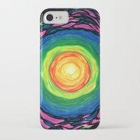 big bang iPhone & iPod Cases featuring Big Bang by Shalimar Luis